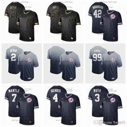 $enCountryForm.capitalKeyWord Australia - Men Women Kid New York Jersey Yankees 2 Jeter 99 Judge 42 Robinson 7 Mantle 4 Gehrig Camo Fashion Stars Baseball Flexbase Black gold Jersey