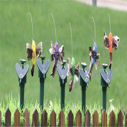 $enCountryForm.capitalKeyWord Australia - Solar Power Dancing Flying Butterflies Fluttering Vibration Fly Hummingbird Flying Birds Garden Yard Decoration Funny Toys T0385