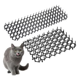 cat strips NZ - Anti-cat Thorn Pad Garden Cat Scat Mats Anti-cat And Pest Prickle Strips Cat Repellent Pad Prevent Cats From Entering