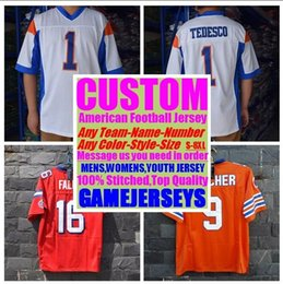 4a54fb0a2434 Personalized american football jerseys college cheap authentic rugby retro  sports jersey stitched men womens youth kids 4xl 5xl 6xl 7xl 8xl