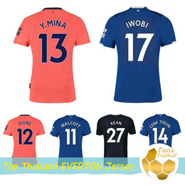 everton jersey xl Australia - 2019 Everton soccer jersey 19 20 Home Away third Richarlison DIGNE SIGURDSSON CENK TOSUN Walcott football uniforms shirts