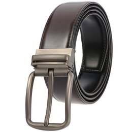 $enCountryForm.capitalKeyWord Australia - 2019 Casual Men Belts Designers Fashion Men Belt Trending Trousers Waist Straps Good Quality Cow Leather Belts 110-130CM Men's Belt