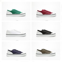 $enCountryForm.capitalKeyWord Australia - Star 2019 Style Luxury Canvas Sneakers Low Top Shoes For Women Black White Red Green Cheap Sale Designer Fashion Casual Shoes Size 35-40
