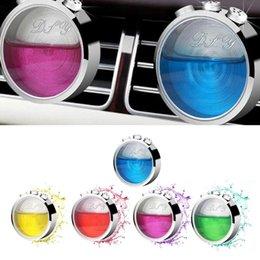 Universal air conditioning online shopping - Perfume Air Freshener Fashion Car Air Conditioning Vent Clip Universal Car Freshener Auto Outlet Perfume