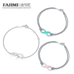 chain hollow snake silver NZ - FAHMI 100% 925 Sterling Silver Charm Original Retro Fashion Double Round Hollow Bracelet Charming Ladies Bracelet Gift TIF
