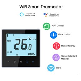 Voice controller online shopping - THP1000 UHPW Electric Heating Thermostat Smart WiFi Temperature Controller Voice Control Compatible with Amazon Echo Google Home