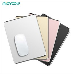 Sanding padS online shopping - Aluminium Gaming Mouse Pad Non slip Rubber Base Micro Sand Blasting Surface for Fast Accurate Control