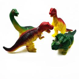 $enCountryForm.capitalKeyWord UK - Hot Sale Jurassic Park Dinosaur blocks Velociraptor Tyrannosaurus Rex Voice Music Making Kids Toy Bricks Gift