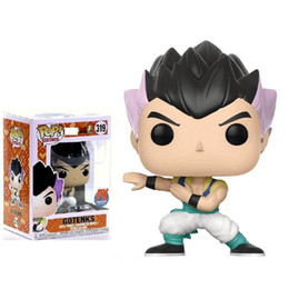 gotenks action figure Australia - Kids Funko pop dragon ball Z PX Gotenks #319 Vinyl Action Figure Collectible Model Toy doll for xmas gift toys hot sell