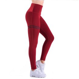 $enCountryForm.capitalKeyWord Australia - Women Sport Leggings Fitness Printed High Waist Yoga Sports Elasticity Running Tights Athletic Stretch Workout Training Pants