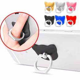 Rings holdeR cat online shopping - Universal color Cat Finger Ring Back Holder Rotating Mount Mobile Phone Finger Grip Lazy Bracket for samsung htc android phone