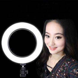 network lights NZ - Live mobile phone fill light anchor beauty rejuvenation network red LED ring light vibrating artifact camera photo LU9101606