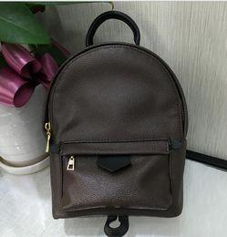 Wholesale High Quality Designer Pu Leather Mini Women Bag Children School Bags Backpack Famous Fashion Springs Palm Lady Bag Travel Bag