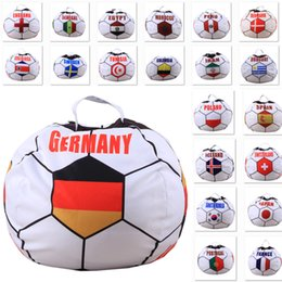 $enCountryForm.capitalKeyWord Australia - 32Team Country Storage Bags For soccer Football Children Plush Stuffed Toys Organization Bags For Blanket Towel Dress Up DHL SHIP XD20830