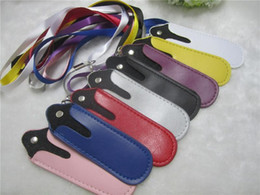 Ego T Bags Australia - Colorful eGo eGo-T e cig Leather pouch ego t portable carrying bag necklace lanyard for ego-t e cigarette ego-c ego-w electronic cigarette