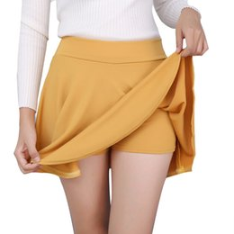 $enCountryForm.capitalKeyWord Australia - High Women's Waist Tutu Short Mini Skirt Pants Plus Size 5xl Pleated Dropshipping Skirts Women 2019 Spring Summer Clothes Female