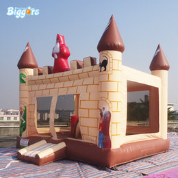 $enCountryForm.capitalKeyWord Australia - YARD Factory Directly Sale Commercial Grade Hot Selling Inflatable Bouncy Castle Air Jumper Bounce House With Blowers