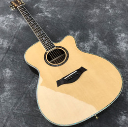Cutaway aCoustiC guitars online shopping - In Stock quot Acoustic guitar with Cutaway Solid Spruce top Rosewood back sides Small diamond inlays Abalone Binding