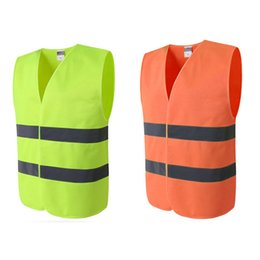 reflective traffic 2019 - Reflective Clothing for Safety Vest body Safe Protective Device Traffic Facilities For Running Cycling Sports Clothing V