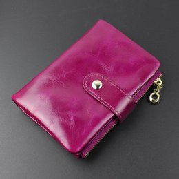 $enCountryForm.capitalKeyWord Australia - 2019 Polyester Unisex Vintage Solid Mini Wallets New Hot Light Wax Soft Leather Ladies Short Wallet Women's Zipper Simple Retro