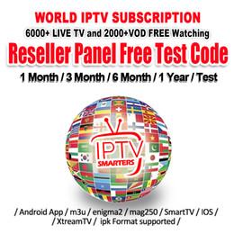 Compte IPTV pour Android TV Box 4K avec abonnement IPTV Plus de 30 pays 6000+ chaînes de télévision en direct Abonnement IPTV France Portugal Arabe Grande-Bretagne IT