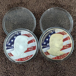$enCountryForm.capitalKeyWord Australia - 45th Donald Trump Silver Eagle Coin Commemorative Coin Make America GREAT Again 45th President dhl ship