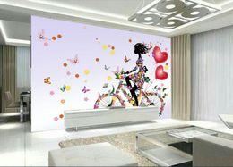 $enCountryForm.capitalKeyWord NZ - 3d wallpaper custom photo Fantasy pattern girl butterfly wedding decorations home decor living room 3d wall murals wallpaper for walls 3 d