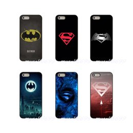 Superman Iphone 5s Case Australia - Fashion Logo Batman vs Superman Sport Hard Phone Case Cover For Apple iPhone X XR XS MAX 4 4S 5 5S 5C SE 6 6S 7 8 Plus ipod touch 4 5 6