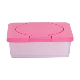 Discount wet wipes box - Dry & Wet Tissue Paper Case Care Baby Wipes Napkin Storage Box Holder Container