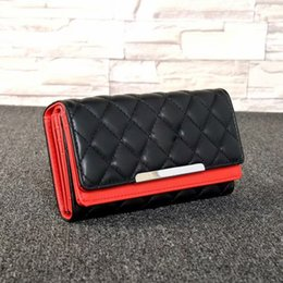 ladies branded handbags cheap 2019 - new designer luxury handbag purse simple rhombic wallet famous brand fashion single zipper cheap luxury designer women p