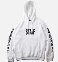Tour Clothing Australia - Brand Clothing Justin Bieber STAFF Purpose Tour Hoodies Mens Clothes Homme Sweatshirts Hiphop Rap Pullovers