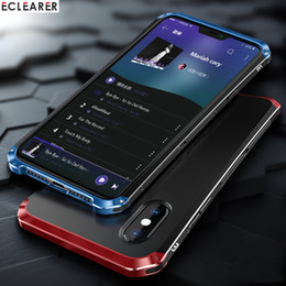 $enCountryForm.capitalKeyWord Australia - Luxury Shockproof Armor Element Metal Case For Iphone Xs Max Cases Hard Aluminium & Pc Case For Iphone X Xs Xs Max Xr Back Cover J190702