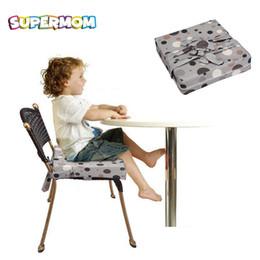Fine linens online shopping - Baby Portable Chair Cushion Children Feeding seat Fine linen fabric Soft sponge for feeding chair babys seat