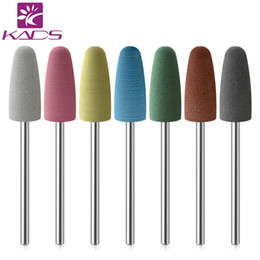 $enCountryForm.capitalKeyWord Australia - KADS Electric Nail File Rubber Nail Drill Bits Flexible Polisher Manicure Machine Accessories Pedicure Milling Cutters