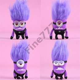 Minion gifts for kids online shopping - 20CM Stuffed Animals Doll Despicable Me Purple Minions Minions Plush Doll Toys Best Gifts For Kids lol