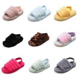 korean cute slippers UK - Children'S Shoes 2020 Summer New Girl Korean Fashion Cute Sweet Bowknot Princess Slippers 1-6 Years Old #485