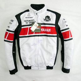 $enCountryForm.capitalKeyWord Australia - MOTO 50-year Anniversary Jacket For YAMAHA Racing Team Summer Motorcycle Mesh Breathable Jacket With 5 Protective Gear