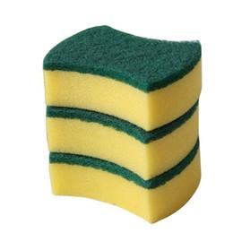 Eco Sponge Kitchen Australia - Multi-purpose Magical Dishwashing Sponge Cleaning Kitchen Household Cleaning Sponge Wipe Wash Pot Brushes Cleaning Tool free shipping