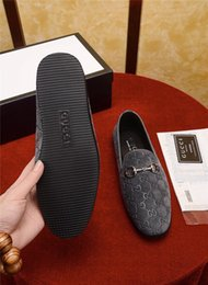 $enCountryForm.capitalKeyWord Australia - Best 4 Colour High Quality Personality Luxury New Designer Classic Luxury Dress Shoes European Shoes Slip-on Printed Genuine Leather Blue
