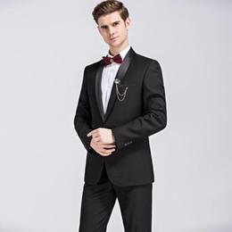 $enCountryForm.capitalKeyWord NZ - Pop 2019 Amazing Black Mens Suits Jackets + Pants S M L XL 2XL 3XL 4XL Decent Wedding Banquet Men Best Slim Clothes LEFT ROM