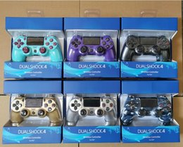 Ps4 colors online shopping - 18 colors PS4 Wireless Bluetooth Game Gamepad SHOCK4 Controller Playstation For PS4 Game Controller with new retail box