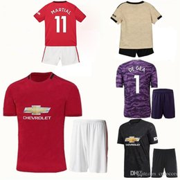 $enCountryForm.capitalKeyWord Australia - Thai quality 2019 2020 Alexis youth Mata jersey boys Football kits Maillot de Foot united set POGBA kids manchester soccer uniforms