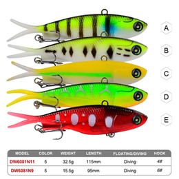 Jigs Australia - New vibrating jig swimbait Twintails soft rubber lure 9.5cm-15.5 11.5cm-32.5g lively baitfish forked tail Fishing lure