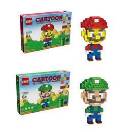 $enCountryForm.capitalKeyWord Australia - Super Mario Bros Building Blocks Figures Super Heroes Spiderman Iron Man Kids Toys Plastics Cartoon Gift for Children