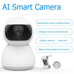 2mp network camera NZ - Wireless WIFI Web Camera HD 1080P Webcams AI Two Way Audio 2MP Night Vision Home Security CCTV Network Webcam EU Dropshipping