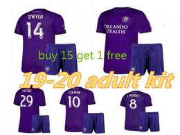 1790dfea226 adult kit 19 20 MLS Men Orlando City Soccer Jerseys Kit NANI Orlando City  Home purple Soccer Shirt 2019 #8 J.MENDEZ adult Football Uniform