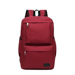 oxford style man bag Australia - Men & Women Retro Outdoor Oxford Cloth Travel Backpack Fashion Backpack 15.6'' Travel Bags Large Capacity Travel Laptop #4gh