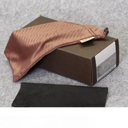 hb boxes NZ - HB glasses case brand sunglasses box sports brown glasses box and bag cloth manual free shipping MOQ=10pcs package