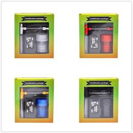 grinder screens 2019 - New Arrive Glass Top Smoking Water Pipe Bong Acrylic Smoking Herb Grinder With Storage Jar Stainless Steel Screen Tobacc
