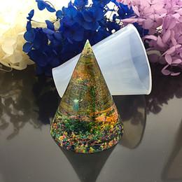 $enCountryForm.capitalKeyWord Australia - Making Epoxy Resin Handmade Mould Cubic Triangular Cone Round DIY Silicone Jewelry Molds Tools 5 Pcs  set Wholesale